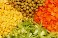 близкий салат вверх Стоковое Фото