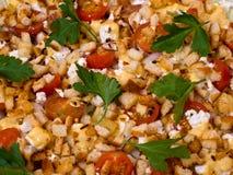 близкий салат вверх Стоковое фото RF