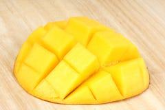 близкий свежий манго вверх Стоковое Фото