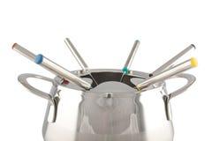 близкий создатель fondue вверх Стоковые Изображения RF