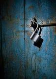 близкий старый padlock вверх Стоковая Фотография RF