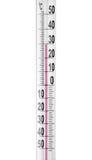 близкий термометр вверх Стоковая Фотография