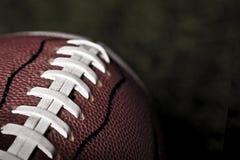 близкий футбол вверх стоковая фотография