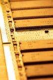 близкий штоссель компьютера вверх Стоковая Фотография