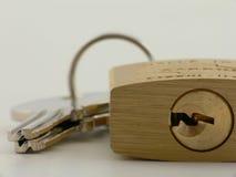 близкий padlock вверх Стоковое Фото