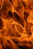близкое пламя вверх Стоковое Изображение RF