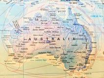 Близкое поднимающее вверх государство южной карты afirica иллюстрация вектора