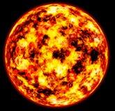 близкое солнце вверх Стоковые Фото