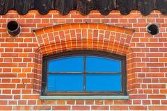 близкое фото вверх по окну Стоковое Изображение