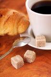 близкое чудесное кофейной чашки горячее поднимающее вверх Стоковые Фотографии RF