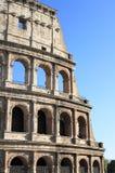 близкое colosseum вверх по взгляду стоковые изображения rf
