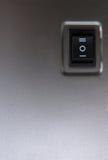 близкое powerbutton вверх Стоковое фото RF