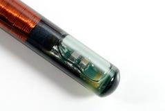 близкое rfid маркирует вверх Стоковое фото RF