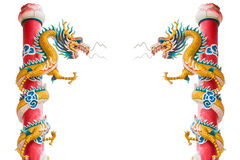 Близнец дракона Стоковые Фото