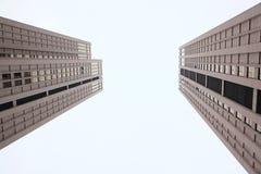 близнец зданий Стоковая Фотография RF