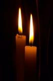 близнец пламен Стоковое Изображение RF