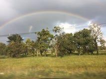 Близнец радуги стоковое фото