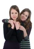 близнец сестер Стоковые Фото