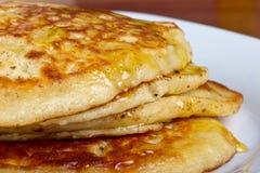 блинчики завтрака Стоковое Изображение