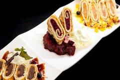 блинчик десертов стоковые фотографии rf