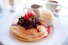 блинчик завтрака Стоковая Фотография