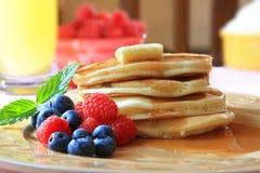 блинчик завтрака стоковое фото
