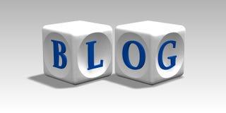 блог Стоковые Изображения