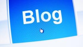 блог Стоковое Изображение RF