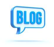 блог Стоковое Изображение
