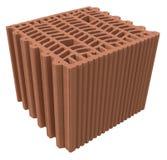 Блокировать термо- кирпич стоковые фото