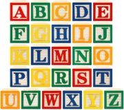 блоки алфавита Стоковое фото RF