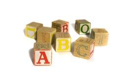блоки алфавита Стоковые Изображения RF