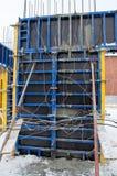 Блоки для того чтобы заполнить учреждение для нового здания стоковые фотографии rf