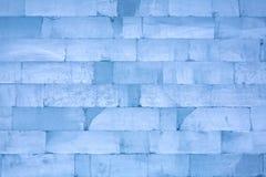 Блоки льда, можно использовать как предпосылка Стоковая Фотография RF