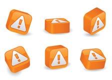 блоки предостерегают габаритные 3 Стоковое Изображение