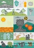 Блоки проблем Eco Стоковое Изображение RF