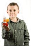 блоки строя игрушку ребенка стоковые изображения rf