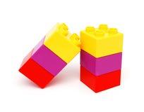 блоки строя пластмассу Стоковое Фото