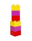 блоки строя пластмассу Стоковое Изображение