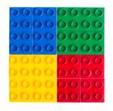 блоки строя пластмассу Стоковые Фотографии RF