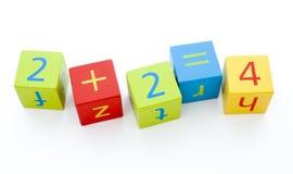 блоки строя ребенка s Стоковые Фотографии RF
