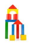 блоки строя цветастое деревянное Стоковые Фото