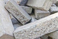 Блоки Beton в хаотическом заказе Стоковое Фото