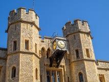 Блок Ватерлоо внутри башня Лондона Стоковые Фото