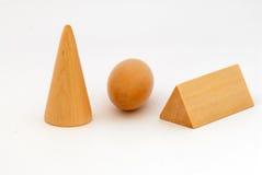 блок деревянный Стоковые Изображения RF