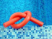 блок красного цвета лапшей Стоковое Фото