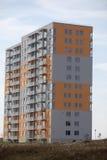 блок построил квартиры заново стоковое изображение