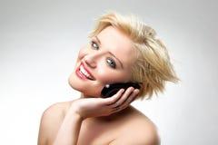 блондинка красотки стоковые изображения rf