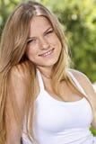 блондинка красотки Стоковое Изображение RF
