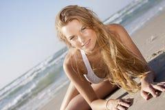 блондинка красотки Стоковые Изображения
